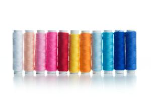 Multicolour bobbins