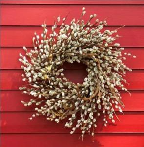 Make aBeautiful Pussy Willow Wreath_F