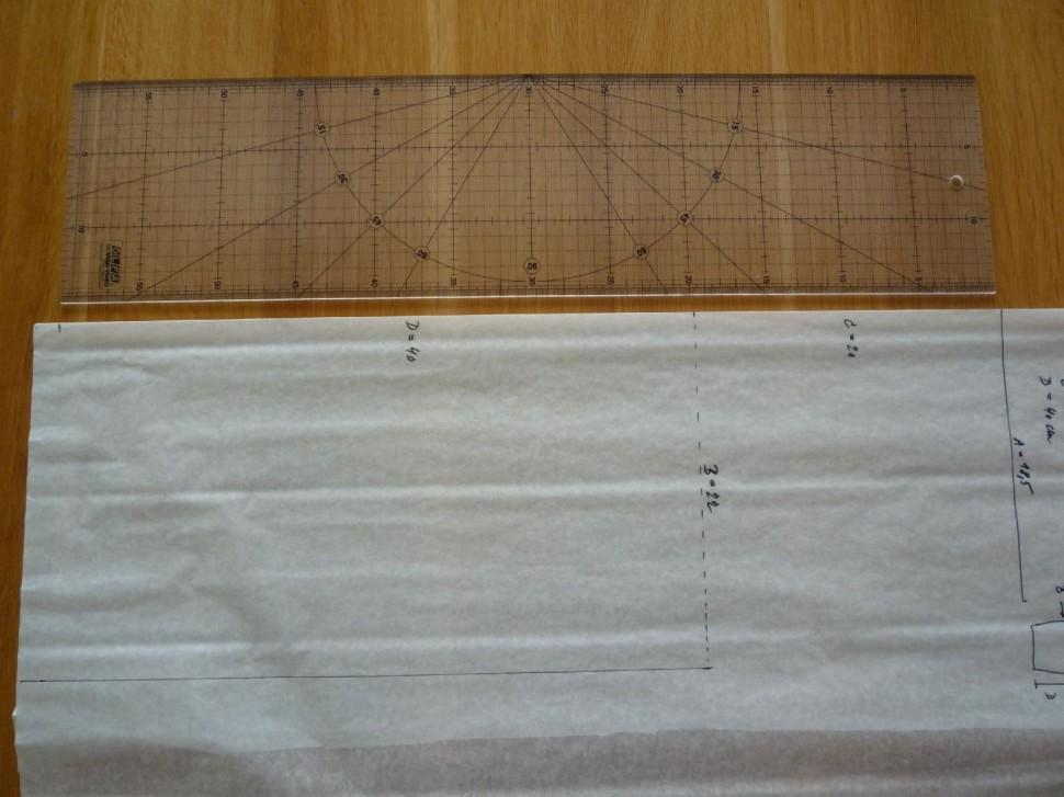 002 Pruhovaná sukně návod