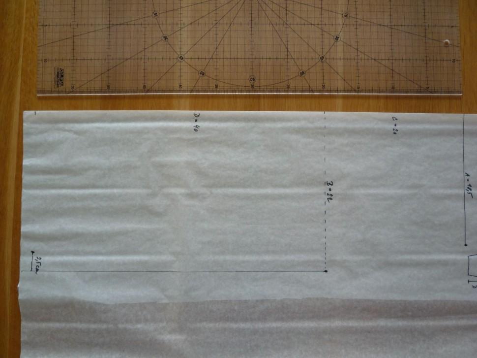 004 Pruhovaná sukně návod